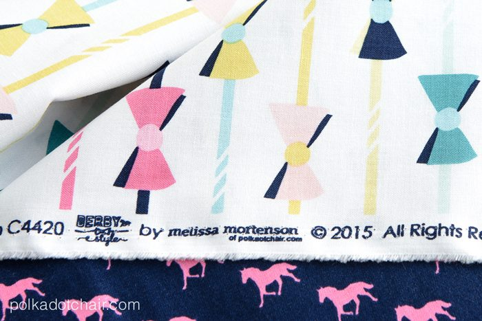 Derby Style Fabric by Melissa Mortenson for Riley Blake Designs- Cute Fabric for your next sewing project