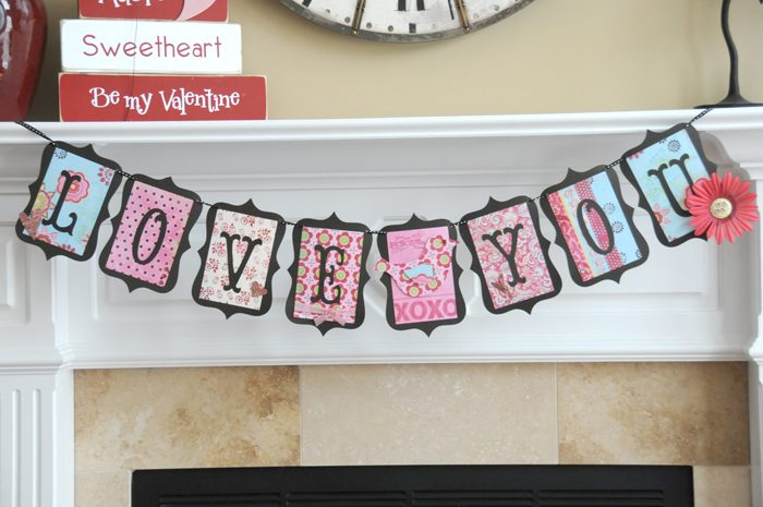 Cute Valentine's Day Banner