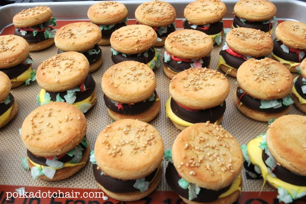 Cookie Cheeseburgers