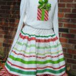 Be-ribboned Skirt & T-shirt tutorial