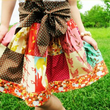 Patchwork Skirt tutorial