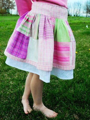 Madras Skirt Tutorial