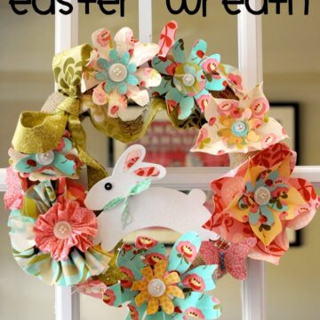 Tutorial: Spring Flowers Easter Wreath