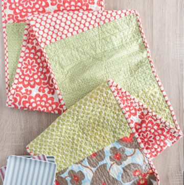 Simple Fat Quarter Table Runner Tutorial
