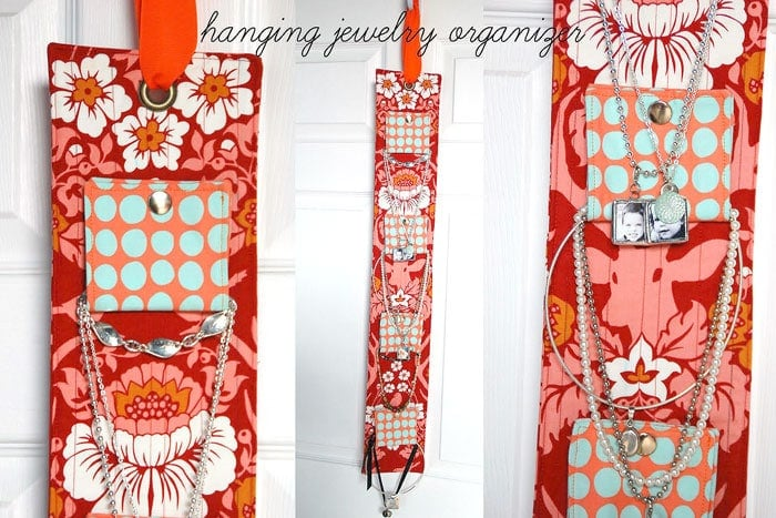 Tuesday Tutorial Hanging Jewelry Organizer The Polka Dot Chair