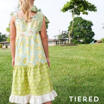 Tiered Pillowcase Dress Pattern