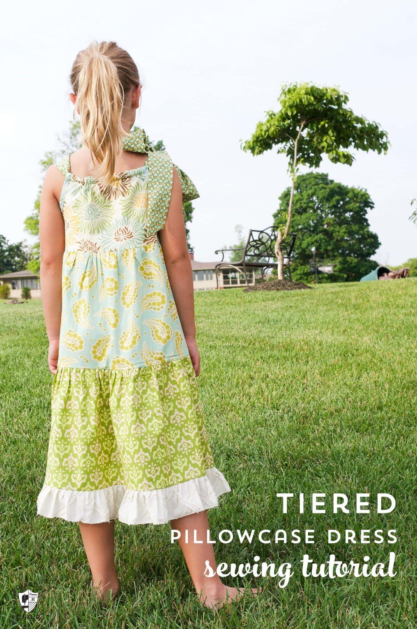 Tiered Pillowcase Dress Pattern