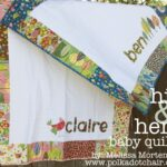 New Tutorial: His & Hers Baby Quilts