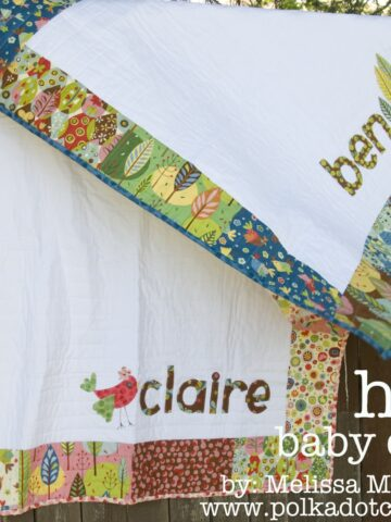 His & Hers Baby Quilt Tutorial
