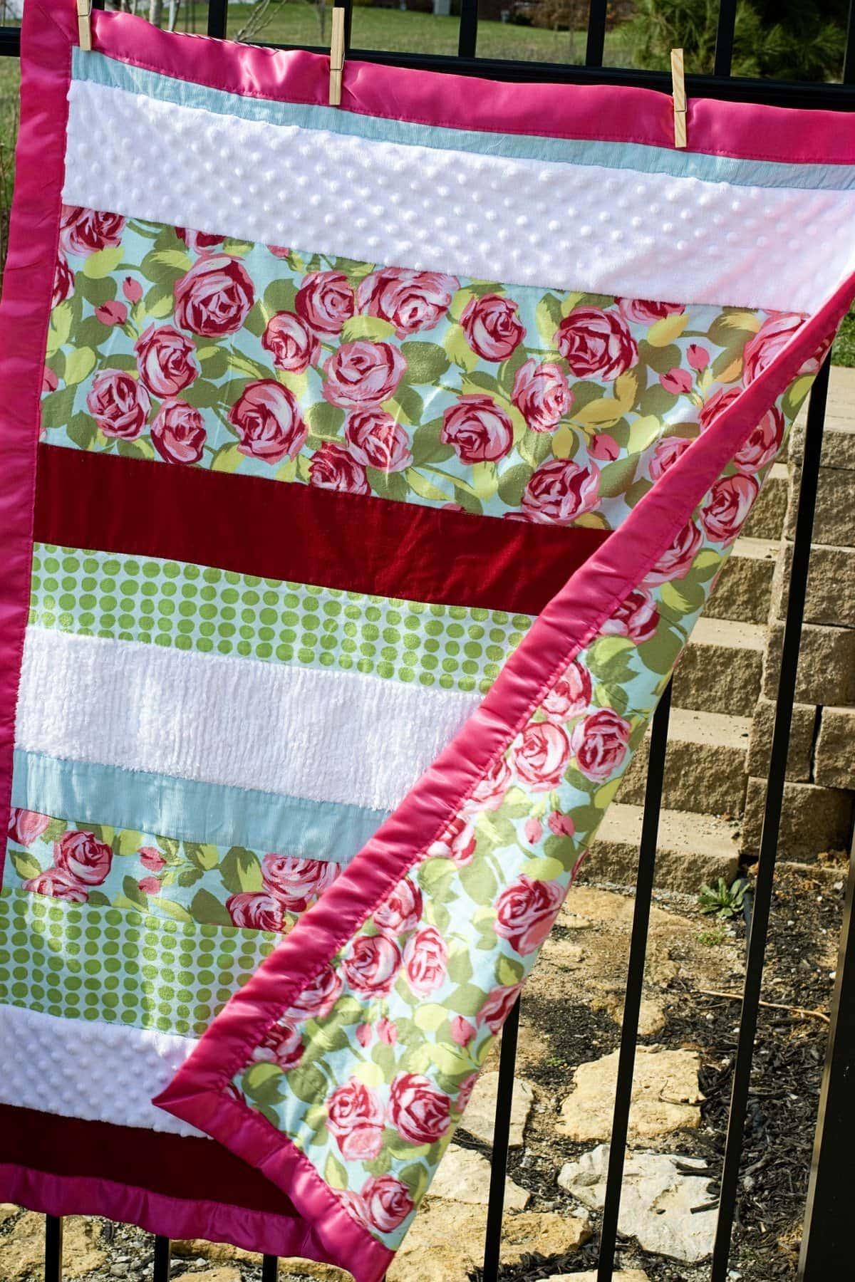 soft  u0026 39 n snugly baby quilt pattern