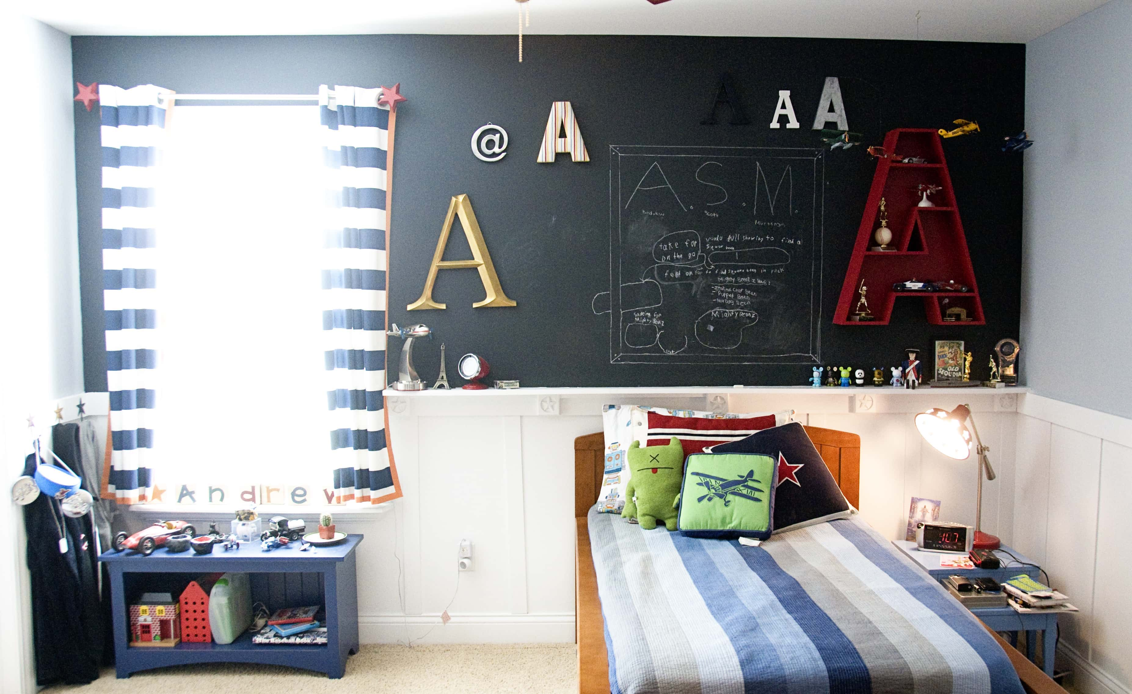 Boys Bedroom Ideas...