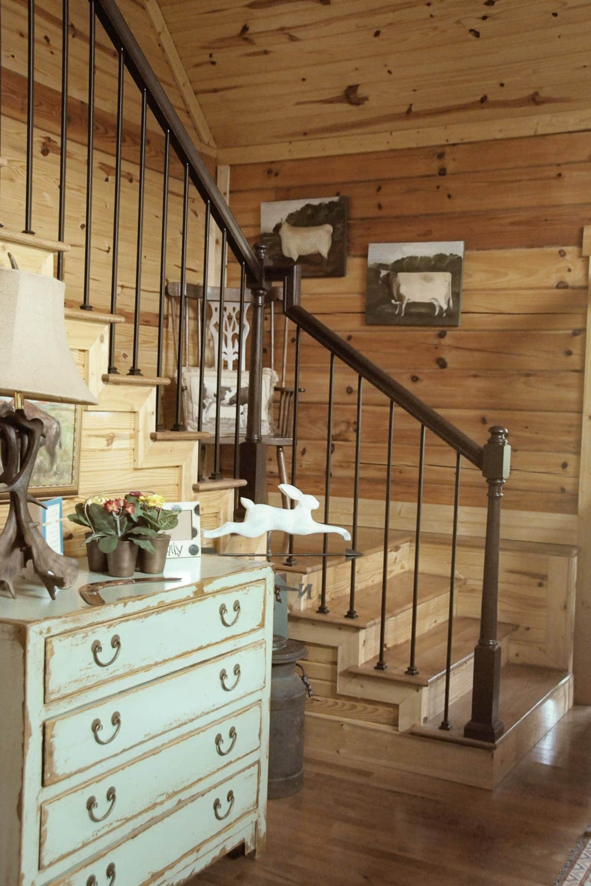 Decorating Knotty Pine Living Room: Some Country Inspiration, Cabin Decorating