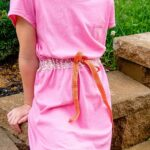 How to sew a summer dress from 2 t-shirts!