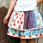 Scrappy Skirt how-to