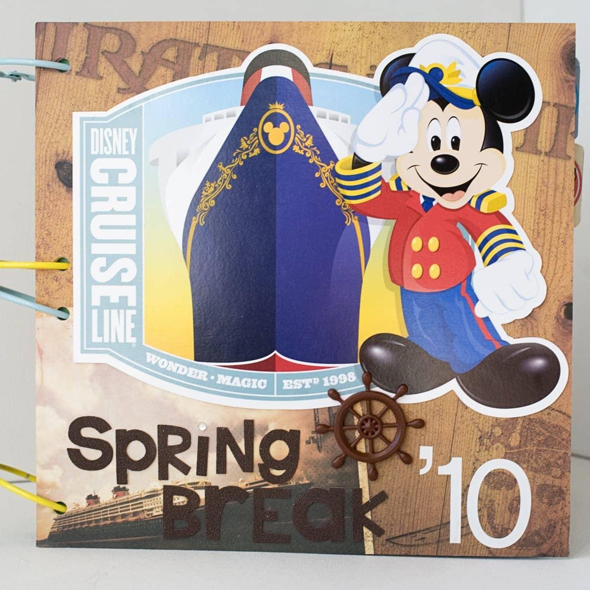 Disney Cruise Scrapbook The Polka Dot Chair