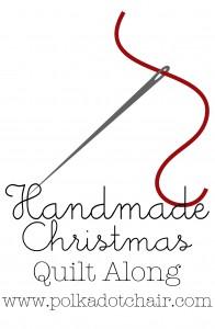 Handmade Christmas Quilt Along