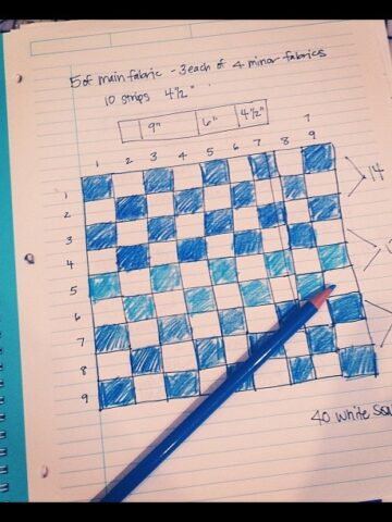 Quilt Design Sketch