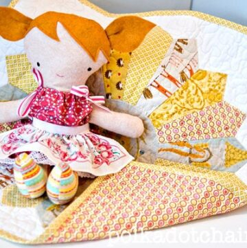 Handmade Doll and Baby Doll Quilt Ideas