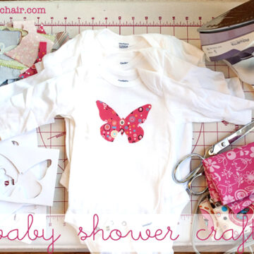 A fun activity for a Baby Shower, Decorate onesies for the new Mom
