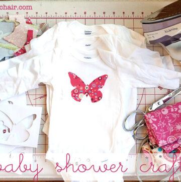 Baby Shower Idea: Decorate Onesie's
