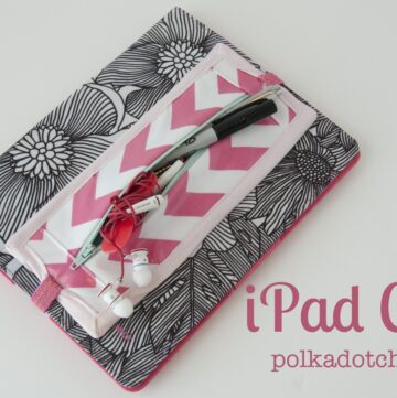 iPad Cozy… a tutorial