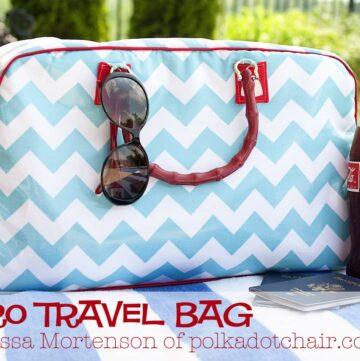Retro Travel Bag: A tutorial