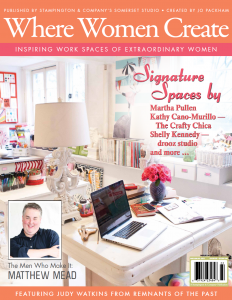 Where Women Create Summer 2012 Cover (1)
