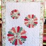 Dresden Burst Baby Quilt for Riley Blake Designs