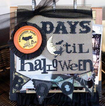 Halloween countdown calendar!