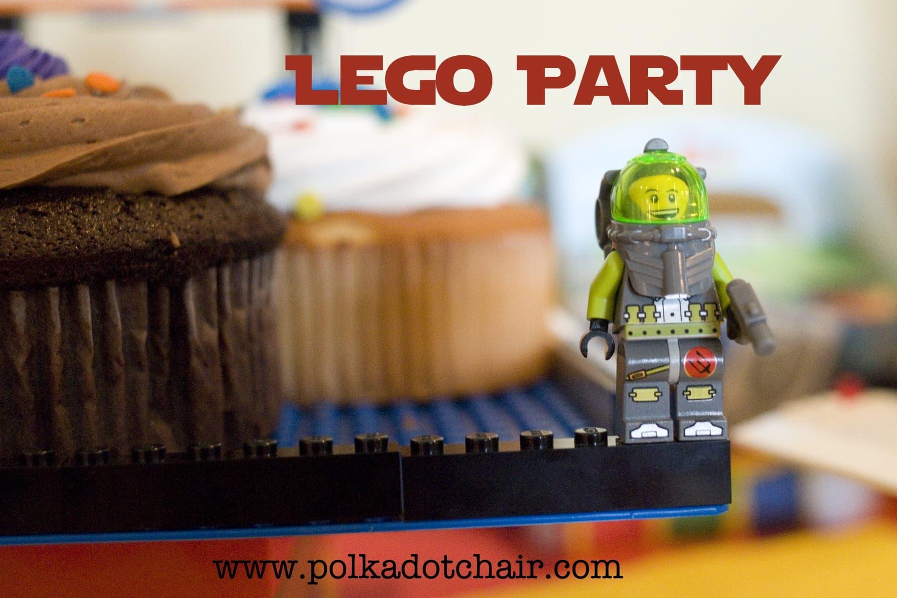 Lego Themed Birthday Party Food Ideas