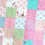Patchwork Quilt with Sarah Jane Fabric