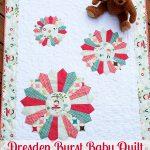 Tutorial: Dresden Burst Baby Quilt