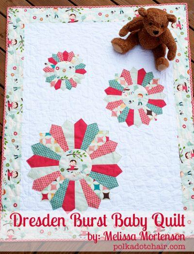 Dresen Burst Baby Quilt Tutorial