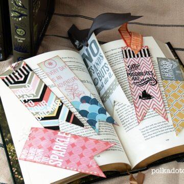 DIY Bookmarks using Rhonna Designs Art