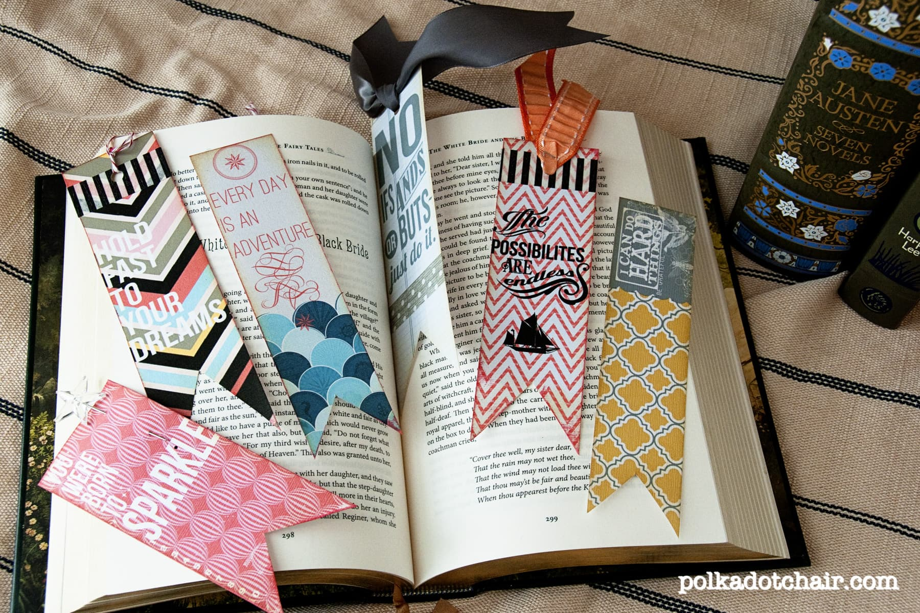 cute diy bookmarks