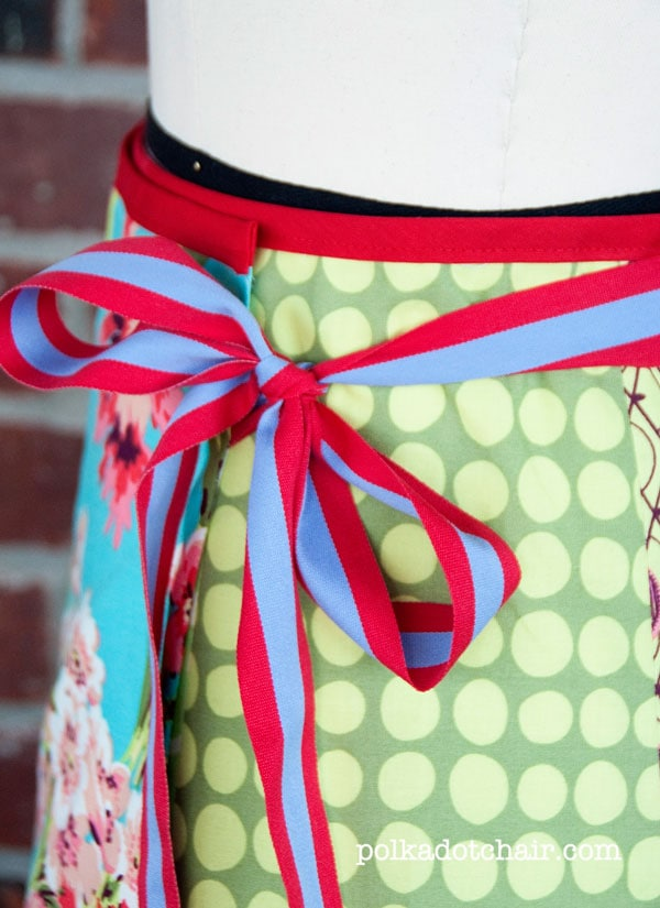 how to make a wrap skirt
