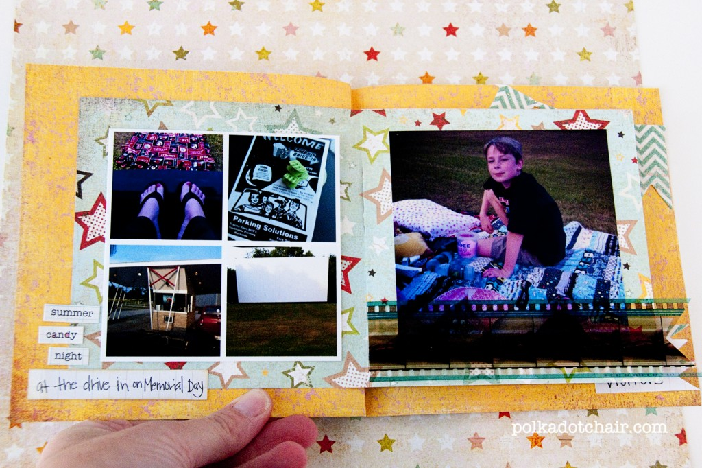 Instagram Mini Scrapbook