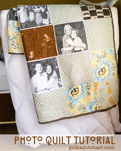 Photo Quilt Sewing Pattern