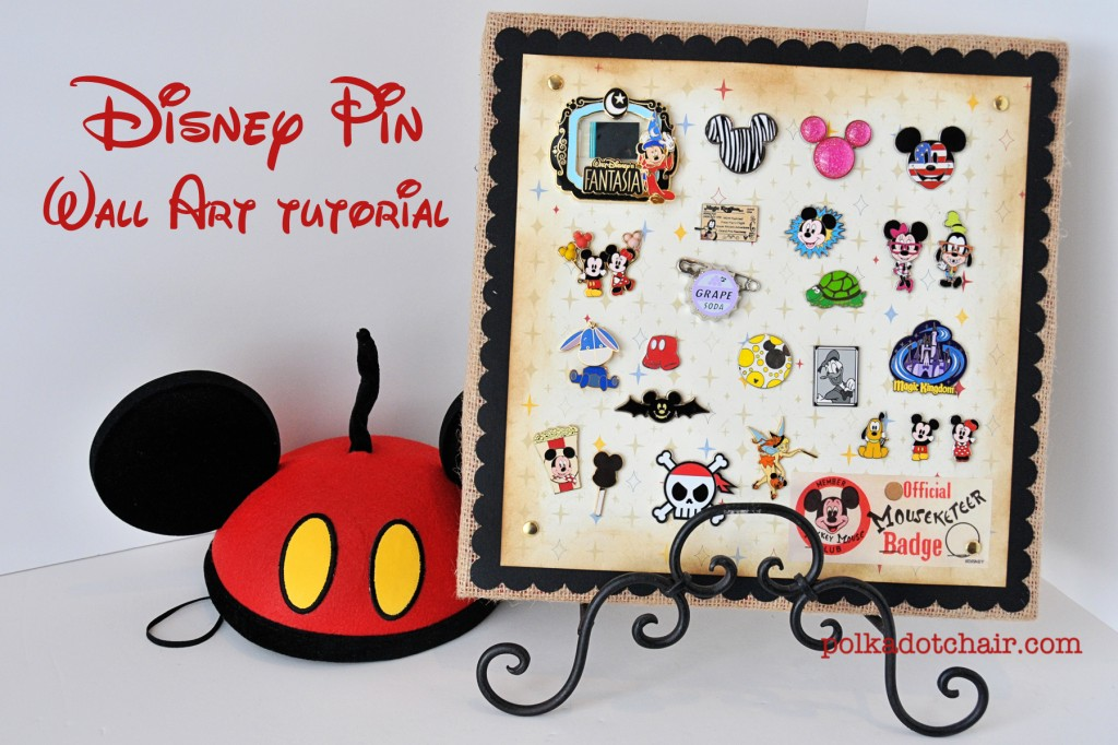 Disney Trading Pins Display Idea