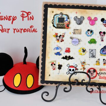 Disney Trading Pins Display Idea