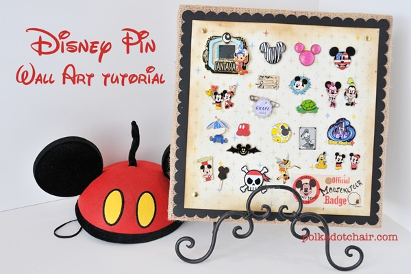 A Great Way to Display your Disney Trading Pins!