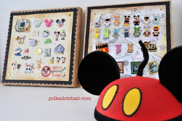 Disney Collectible Pins Display Idea
