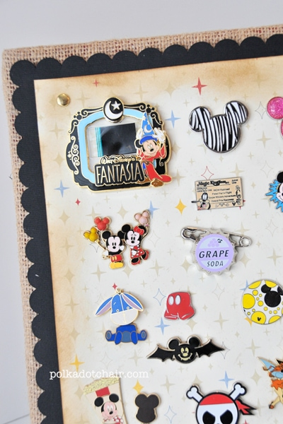 How to display your Disney Trading Pins