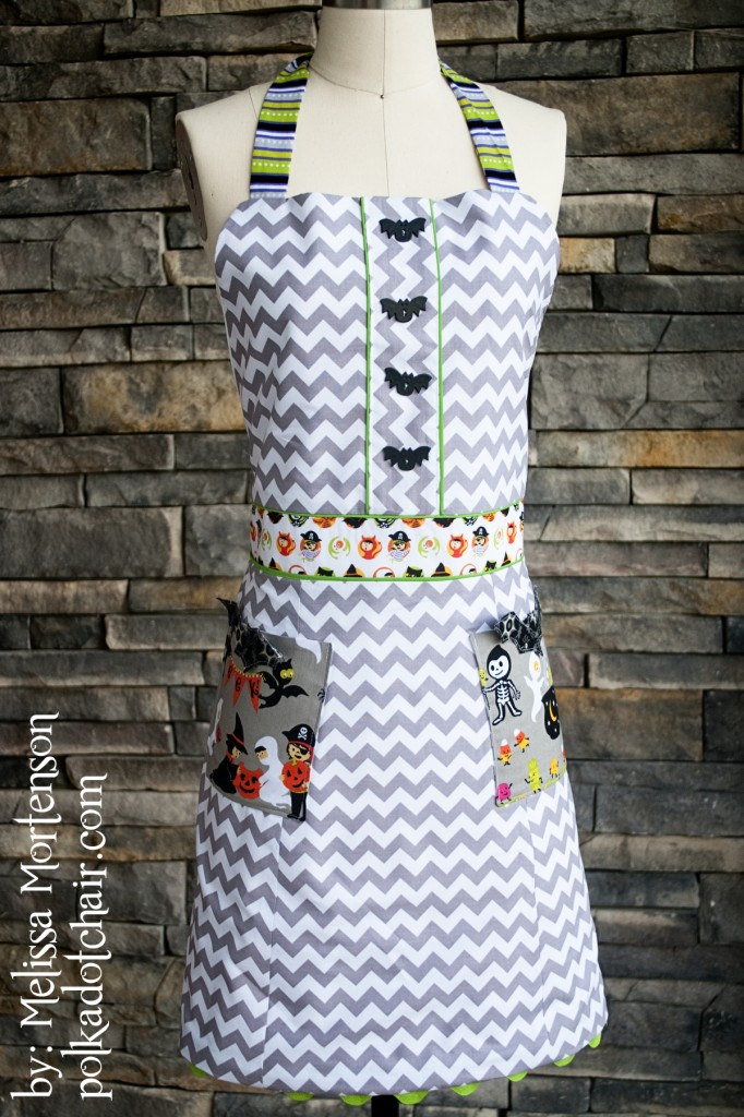 Halloween Apron Sewing Pattern