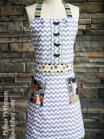 Halloween Apron Sewing Pattern