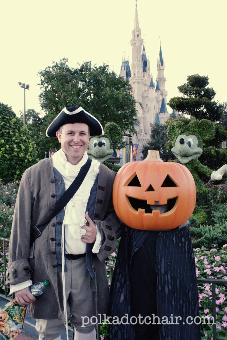 Ichabod Crane and the Headless Horseman Halloween Costume Ideas