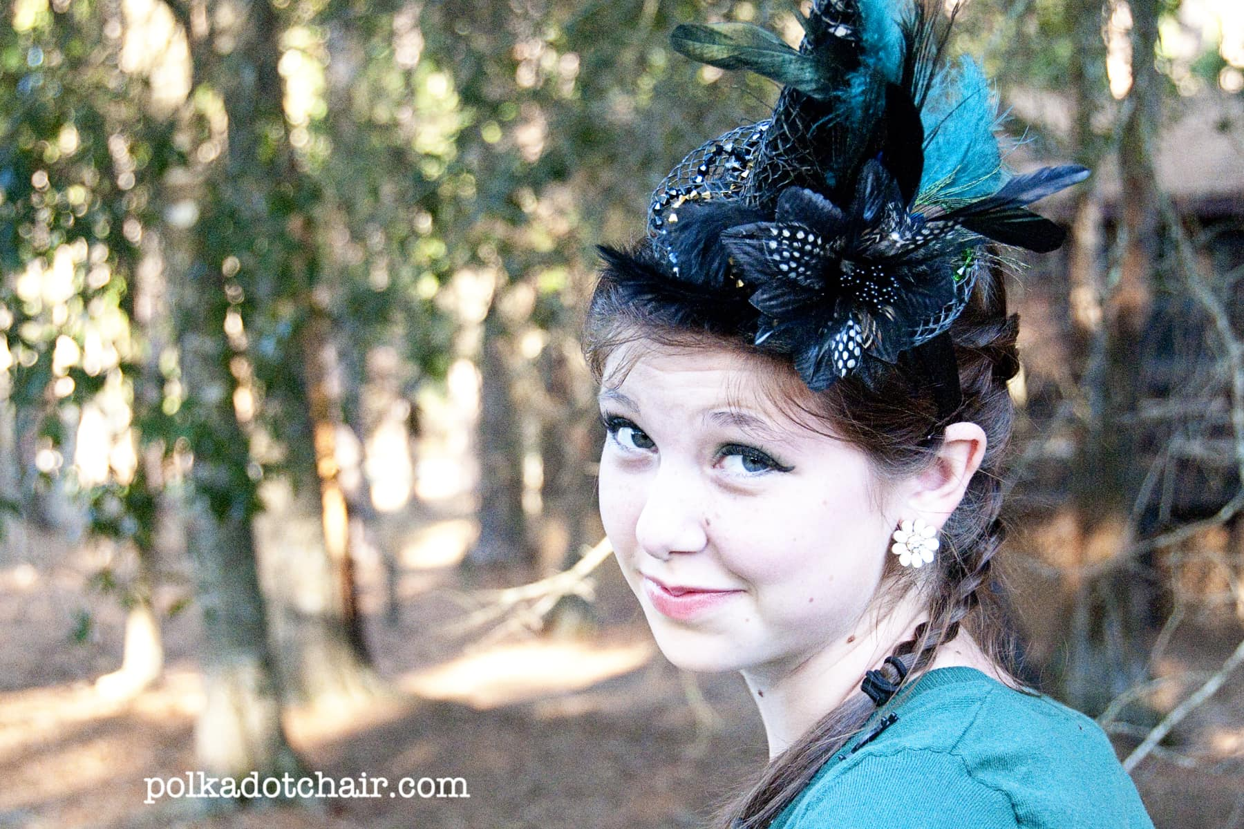 Make your own Witch s Hat Fascinator - The Polkadot Chair b00553ed601
