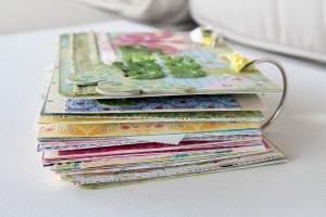 Flip Book Mini Scrapbook Album