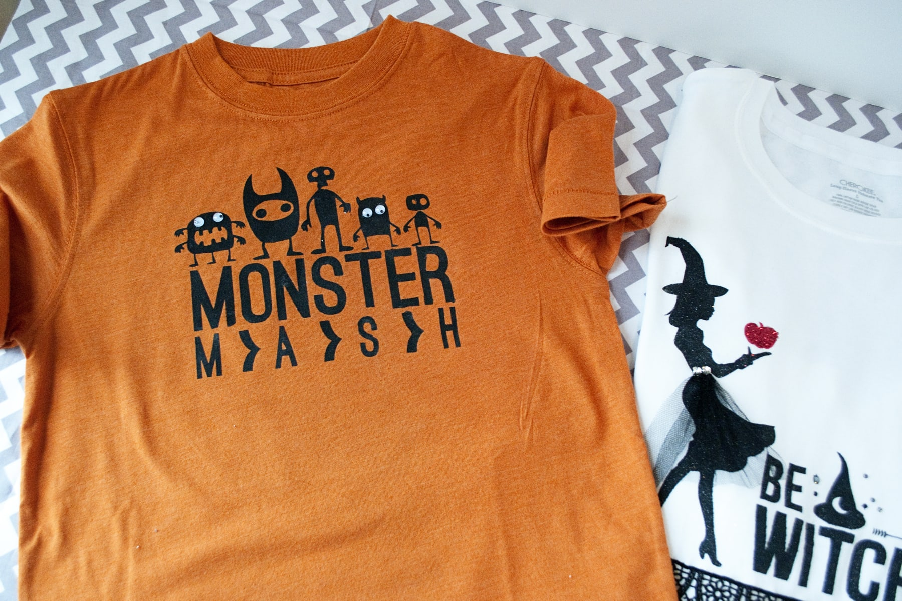 make your own halloween t-shirts
