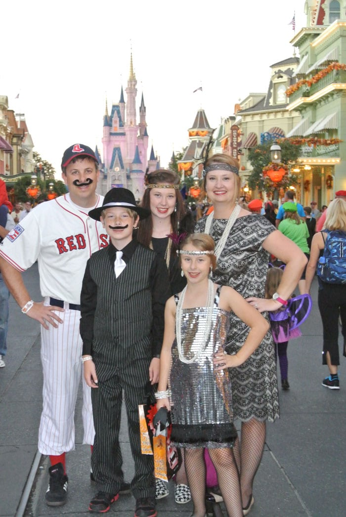 Mickey's Not So Scary Halloween Party at Disney World - Costume Ideas